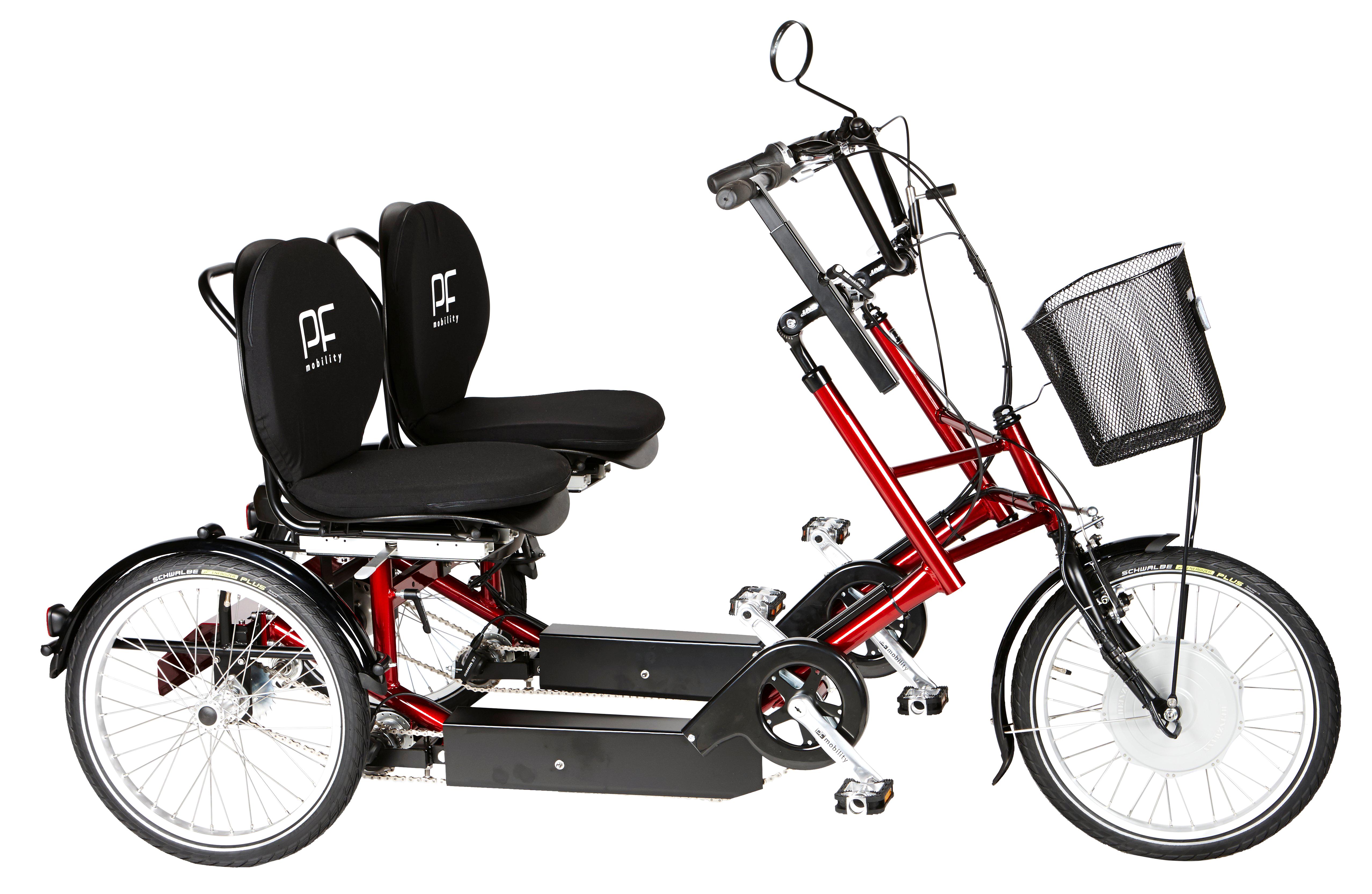 PF Mobility Duo Dreirad Pedelec (mit Motor)