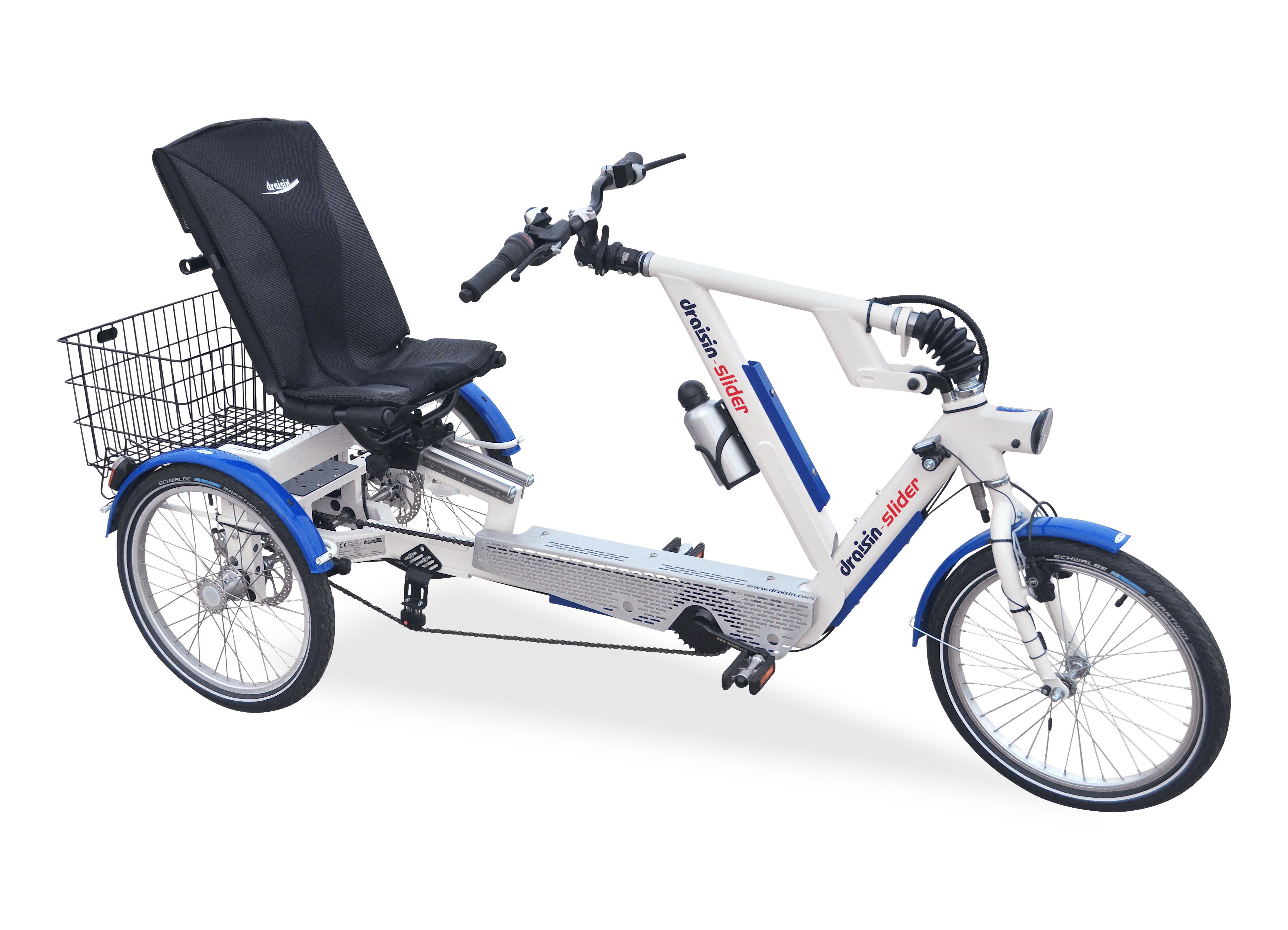 SLIDER Sitz Dreirad mit Heinzmann Motor